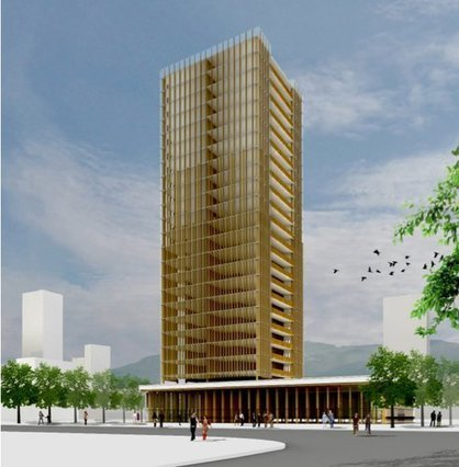 Tall Wood: Technology To Build Wood Buildings Thirty Stories High | sustainable architecture | Scoop.it