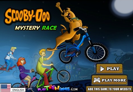 ScoobyDoo Mystery Race | Action Games | Scooby Doo Games | Avatar Games | Scoop.it