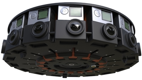 GoPro y Google unen sus fuerzas para obtener el vídeo de 360º perfecto - Video | Tecnología 2015 | Scoop.it