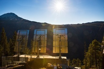 Pictures: Mirror Beams Light to Norwegian Town in Winter for First Time | Geography in the classroom | Scoop.it