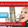 Procuring of Voiceover Commercials