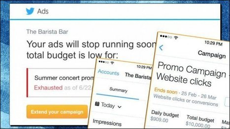 Twitter Officially Launches Mobile Ads Manager | Marketing & Webmarketing | Scoop.it