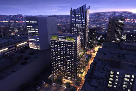 A Tech-Savvy, LEED-Certified Residential Tower Complex for San Francisco | sustainable architecture | Scoop.it
