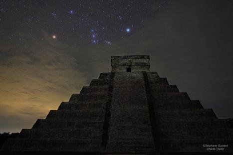 APOD: 2012 December 21 - Orion over El Castillo | Astronomy Domain | Scoop.it