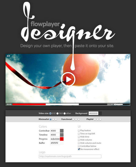 The video player for Web · Flowplayer | It-pedagogik och mobilt lärande | Scoop.it