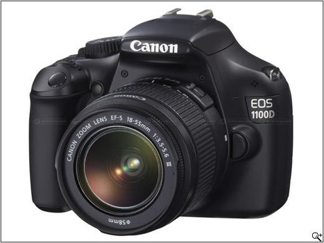 Canon Rebel T3 / EOS 1100D announced and previewed | Photography Gear News | Scoop.it