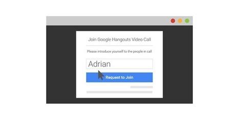 Plus besoin d'un compte Google pour participer a un Hangout - Les Outils Google | JP revues | Scoop.it