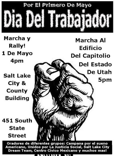 Salt Lake City May Day: Dia Del Trabajador | May Day 2012 | Scoop.it