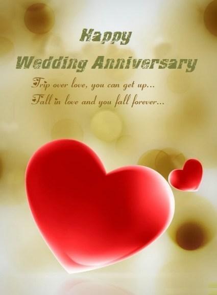 40 Romantic Wedding Anniversary Wishes Pic G