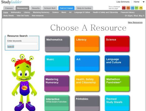 Studyladder, online english literacy & mathematics. Kids activity games, worksheets and lesson plans. | TPS Library | Scoop.it