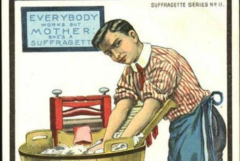 12 Cruel Anti-Suffragette Cartoons | A Cultural History of Advertising | Scoop.it