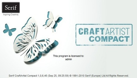 Logiciel Gratuit CraftArtist Compact 391 Mo Licence Gratuite Creation Grahique Cartes Enveloppes Scrapbook Flyers Etc