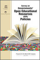 Commonwealth of Learning - Survey on Governments' Open Educational Resources (OER) Policies | The 21st Century | Videogames and Innovation in Education | Scoop.it