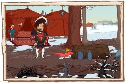 Un jeu sérieux sur le règne de François 1er. Le Roi et la Salamandre   tice   Scoop.it