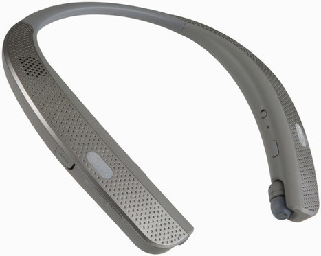 LG TONE Wireless Bluetooth Speakers & Earbuds Get Charged with a Neckband | Embedded Systems News | Scoop.it