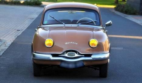 Panhard Dyna Z, une géniale française des années 50 | Voitures anciennes - Classic cars - Concept cars | Scoop.it