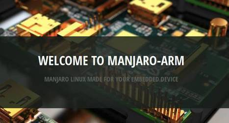 Manjaro brings yet another distro to the table for the Raspberry Pi   Raspberry Pi   Scoop.it