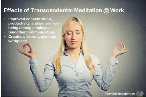 Meditation at Work to Beat Stress - Team Building Spirit | Creativity, innovation and team building. | Scoop.it