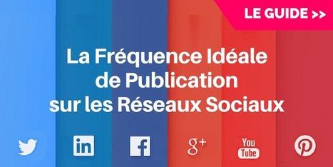 ▶ Les Fréquences de Publication Idéales sur les Réseaux Sociaux [Guide] | Gestion de l'information | Scoop.it