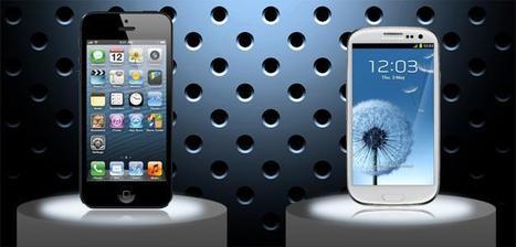 Apple iPhone 5 vs. Samsung Galaxy S3.. the specs showdown   Mobile IT   Scoop.it