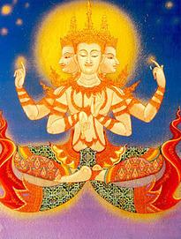 Mito De Creación Hindú :  Brahma | Origen del Mundo a través de los Mitos | Scoop.it