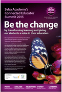 Connected Educator Summit 2015 | Be the change | Professional learning | Scoop.it