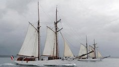 La Belle Poule, star de 80 ans, prise d'assaut par les visiteurs de l'Armada - France 3 Basse-Normandie   Lazare   Scoop.it