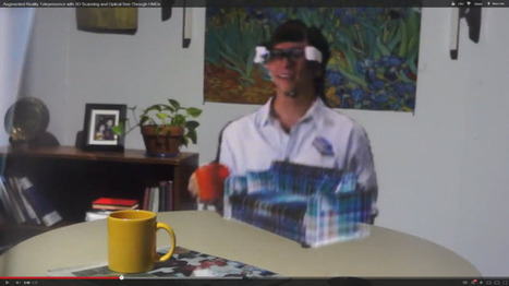 The Future of Telepresence: UNC's Augmented Reality Research - Telepresence Options | cool stuff from research | Scoop.it