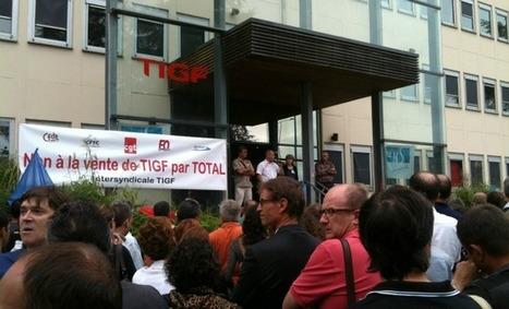 Total s'apprête à vendre TIGF à Pau au consortium EDF - Aqui.fr | BIENVENUE EN AQUITAINE | Scoop.it