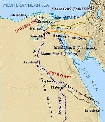 Ancient Egypt Geography | Ancient World History | Scoop.it