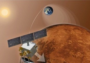 Marte, la sonda indiana Mars Orbiter nell'orbita del Pianeta Rosso | astronotizie | Scoop.it