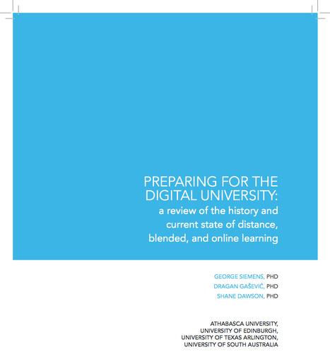 George Siemens:  Preparing for the Digital Universitiy | Education & Technology News | Scoop.it