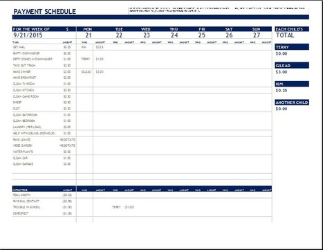 Word Timetable Template. Daily Schedule Template Format Sample