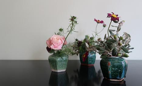 Make a 1 minute Ikebana • Ikebana Beautiful | TRENDBUBBLES | Scoop.it