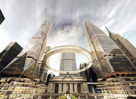 Projet de passerelle circulaire en lévitation pour New York | Urbanisme | Scoop.it