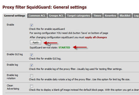 pfSense - Squid + Squidguard / Traffic Shapping