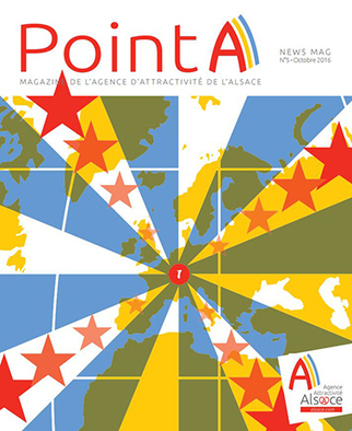 """Point A n°5"", le magazine de l'Agence d'Attractivité de l'Alsace 
