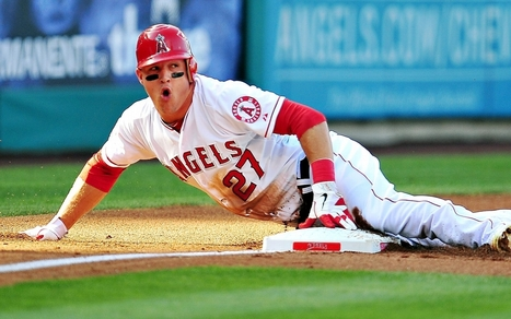 Mike Trout Hd Wallpaper Pictures Hd Wal
