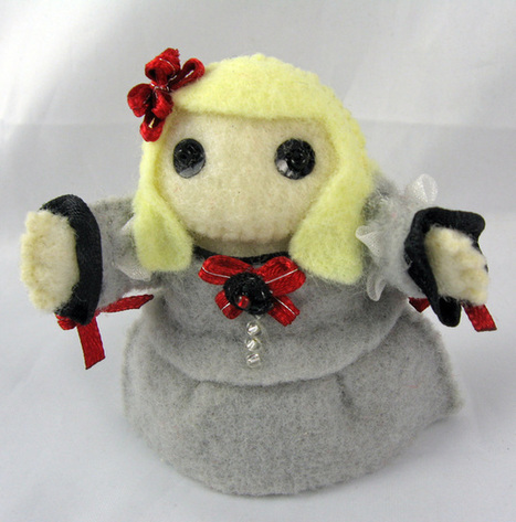 Little historical felt dolls | Geeky Creations | Scoop.it