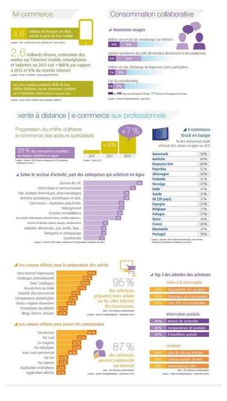 Quelques chiffres e-commerce de la Fevad : dern... | CRM - eCRM - Social CRM | Scoop.it