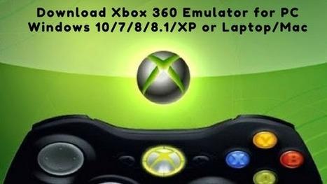 Download Xbox 360 Emulator for PC Windows 10/7/