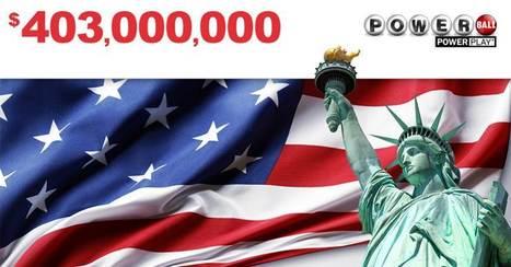 403 000 000 $ au #Powerball Tirage Samedi 26-11 | Pariez avec ASTROQUINTE | Scoop.it