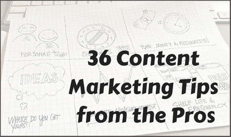 36 Content Marketing Tips for 2015 | Digital Experience Journal | Scoop.it
