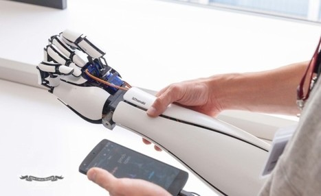 Remarkably Limber Bionic Arm That Connects To Your Smartphone | shubush augment | Scoop.it