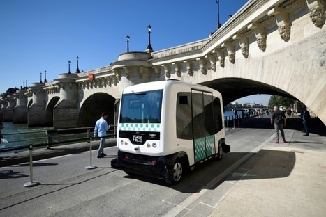 La RATP teste à Paris des navettes sans chauffeur | 694028 | Scoop.it