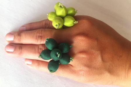 fair trade Cambodia. Leftover silk rings, handmade ethically by disadvantaged home based workers. | Craftworks Cambodia. Fair trade Crafts | Scoop.it
