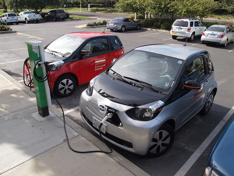 Reinventing A Suburban Business Park With 30 Electric Cars | bancoideas | Scoop.it