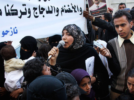 In #Yemen, A Woman Leads The Call For #Revolution   From Tahrir Square   Scoop.it