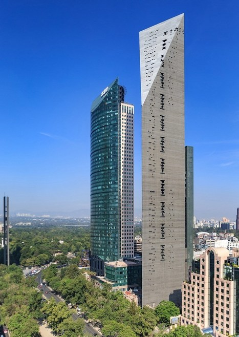 Mexico's Torre Reforma: A SHARP Convergence of Two Facades | Archute | The Architecture of the City | Scoop.it