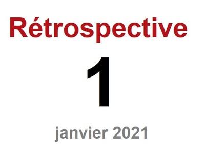 Rétrospective n°1 - Janvier 2021